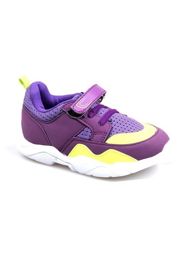 Cool 20-S19 Mor Kız Çocuk Bebe Fileli Günlük Spor Ayakkabı Mor